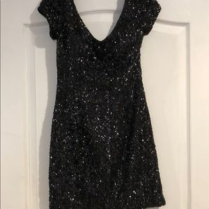 Dresses & Skirts - Alyce Paris sequins black dress